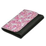 kawaii pink pattern wallets