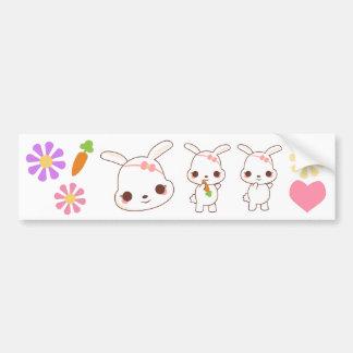 Kawaii Pinkee Bumper Stickers
