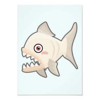 Kawaii Piranha Card