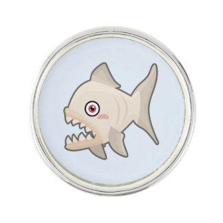 Kawaii Piranha Lapel Pin