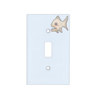 Kawaii Piranha Light Switch Cover