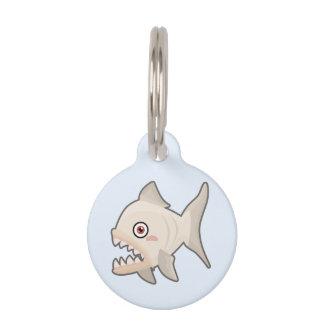 Kawaii Piranha Pet ID Tag
