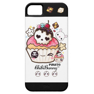 Kawaii pirate skull cupcake iPhone SE/5/5s case