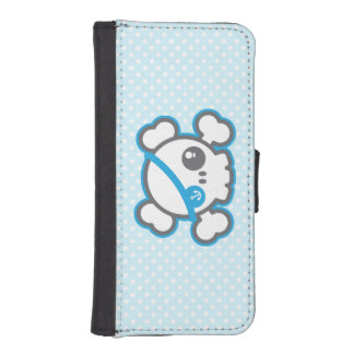 Kawaii Pirate Skull iPhone Wallet Case
