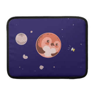 Kawaii Pluto Penguin Planet and Moons MacBook Air Sleeve