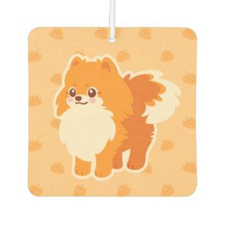 Kawaii Pomeranian Cartoon Dog Air Freshener