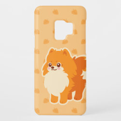 Kawaii Pomeranian Cartoon Dog Case-Mate Samsung Galaxy S9 Case