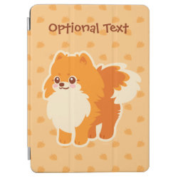 Kawaii Pomeranian Cartoon Dog iPad Air Cover