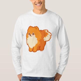 Kawaii Pomeranian Cartoon Dog T-Shirt