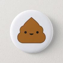 Kawaii Poop Button