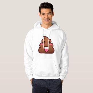kawaii poop emojis mens hooded hoodie sweatshirt