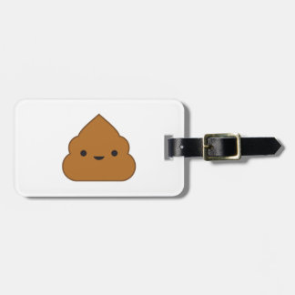 Kawaii Poop Luggage Tag
