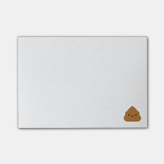 Kawaii Poop Post-it Notes