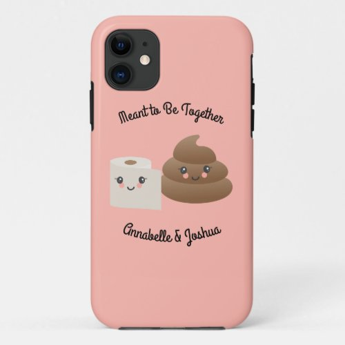Kawaii Poop & TP (Toilet Paper) Girlfriend Gift Phone Case