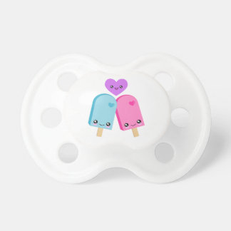 Kawaii Popsicle Love Pacifier BooginHead Pacifier
