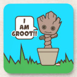 Kawaii Potted Groot Coaster