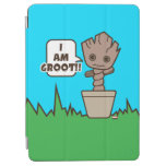 Kawaii Potted Groot iPad Air Cover