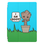 Kawaii Potted Groot iPad Pro Cover