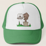 Kawaii Potted Groot Trucker Hat