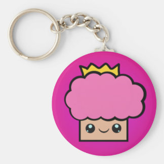 Kawaii Princess Cupcake Keychain