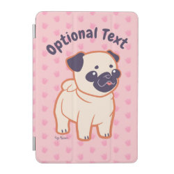 iPad mini Cover with Pug Phone Cases design