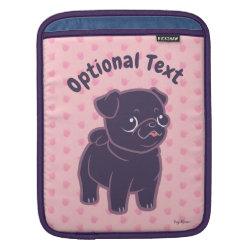 iPad Sleeve with Pug Phone Cases design