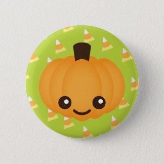 Kawaii Pumpkin Button