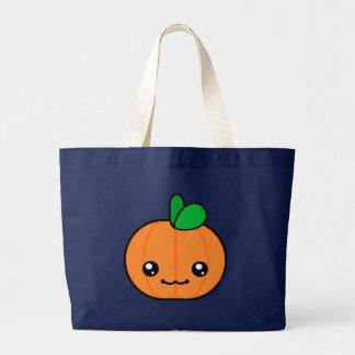 Kawaii Pumpkin Halloween Tote Bag