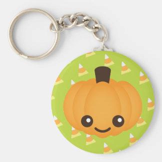 Kawaii Pumpkin Keychain