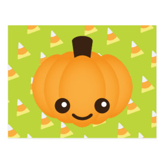 Kawaii Pumpkin Postcards