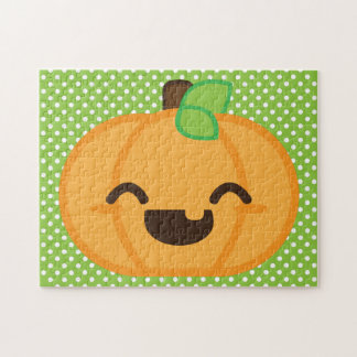 Kawaii Pumpkin Puzzle