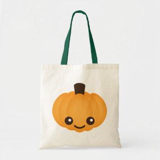 Kawaii Pumpkin Tote Bag