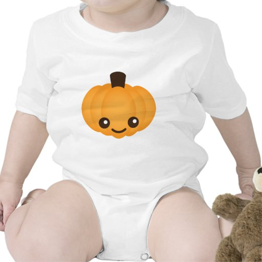 Kawaii Pumpkin Tshirts