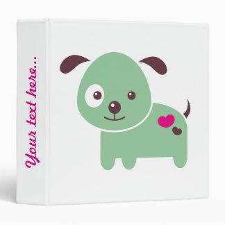 Kawaii puppy 3 ring binders