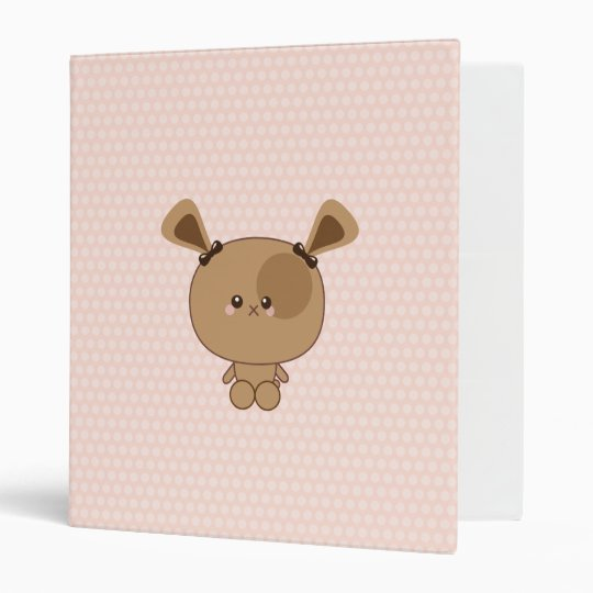 Kawaii Puppy Binder