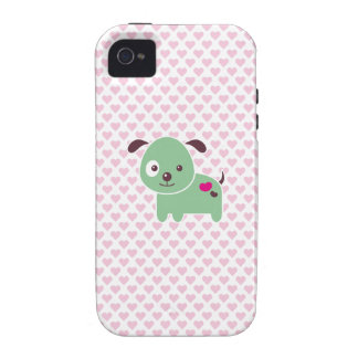 Kawaii puppy Case-Mate iPhone 4 cover