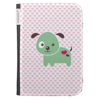 Kawaii puppy case for kindle
