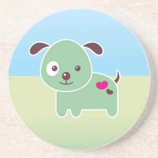 Kawaii puppy coasters