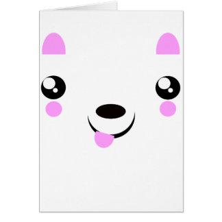 Kawaii Puppy cute kawaii t-shirts Card