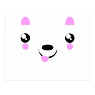 Kawaii Puppy cute kawaii t-shirts Postcard