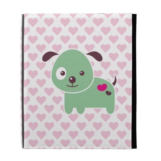 Kawaii puppy iPad cases