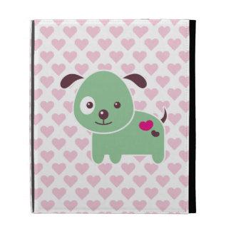 Kawaii puppy iPad folio case