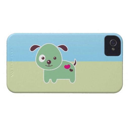 Kawaii puppy iPhone 4 Case-Mate case
