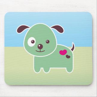Kawaii puppy mouse pad