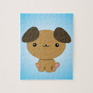 Kawaii Puppy puzzle
