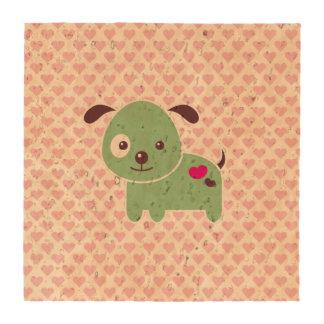 Kawaii puppy coaster