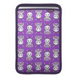 Kawaii Purple Bunny Pattern MacBook Air Sleeve