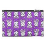 Kawaii Purple Bunny Pattern Travel Accessory Bag