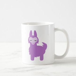 Kawaii Purple Llama Coffee Mug