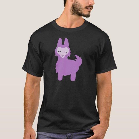 Kawaii Purple Llama T-Shirt